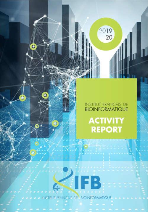 Une du rapport d'activité 2019-2020